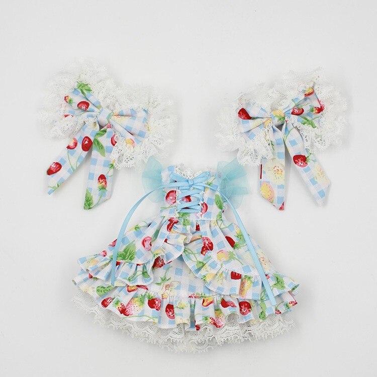 Neo Blythe Doll Butterfly Skirt Dress 3