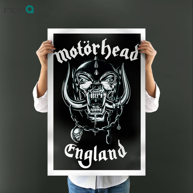 Unframed Wall Art Canvas Painting Motorhead Rock Music Poster Printings for Wall Decorations Living Room