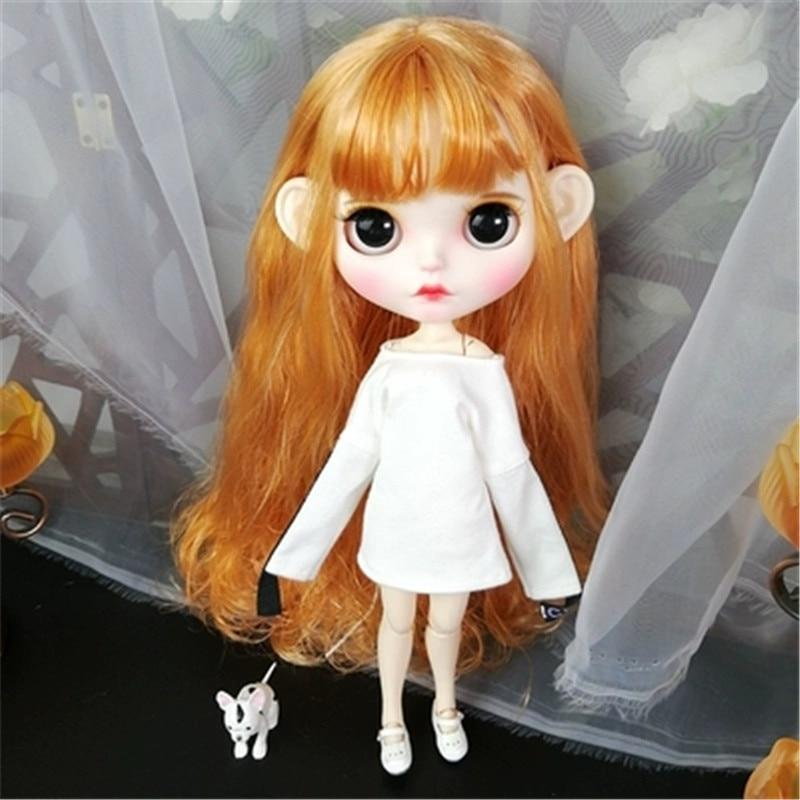 Oyuncaklar ve Hobi Ürünleri'ten Bebekler'de Prenses 30 cm 1/6 BJD Bebekler Modeli Ile Uzun Sarı Saç Yüksek Kaliteli Su Geçirmez Blythe Doll Hareketli Vücut Ortak Bebek Sıcak noel Oyuncaklar'da  Grup 1