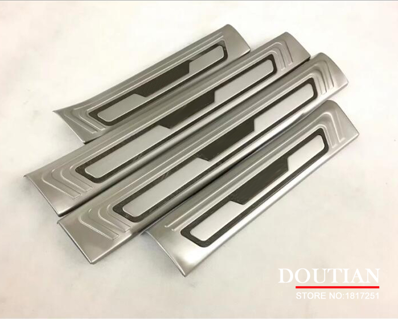 For Mazda CX-5 cx5 2018 2017 inside Door Sill Scuff Plate Welcome Pedal Stainless Steel Car Styling Accessories цены онлайн
