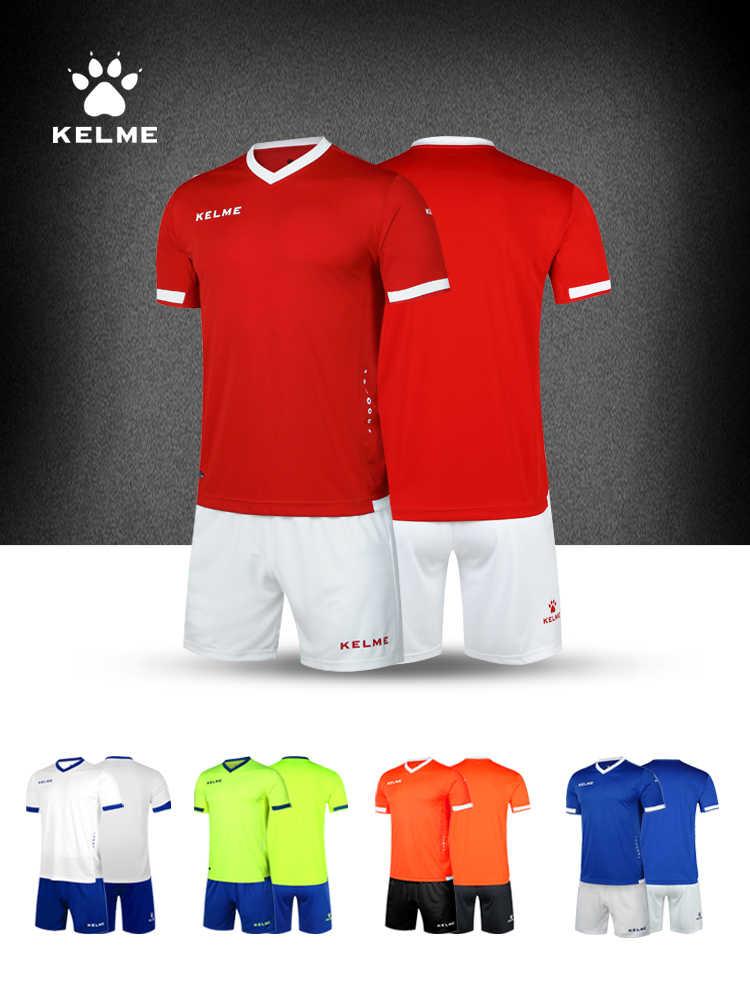 reputable site 23531 55710 KELME Brand Soccer Set College Football Jerseys Custom ...