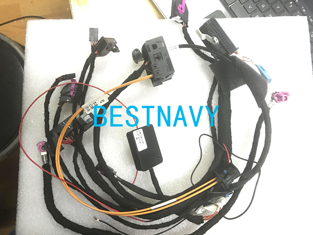 Free DHL Wirings harness with CAS Emulator tester for BMW CCC CIC NBT EVO navigation systems power on bench all in one