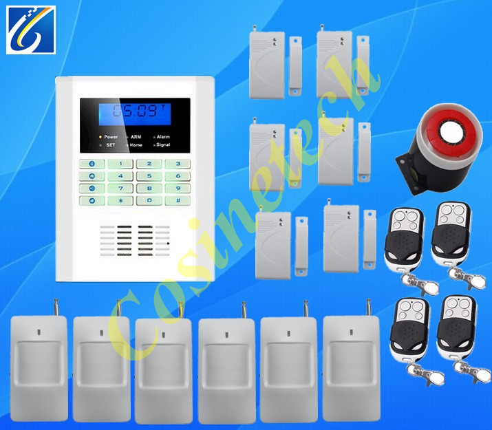Security alarm system in English,French,Russian,Italian,Chinese for selection smart wireless voice,SMS PSTN GSM alarm system free shipping guard english french app wireless gsm pstn phone alarm security system built in speaker for intercom security