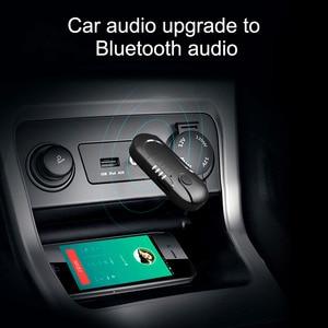 Image 4 - AOSHIKE  FM Transmitter Bluetooth Reciever FM Modulator Radio Hands Free Car Kit Car MP3 Audio Player with USB Car Charger TF U