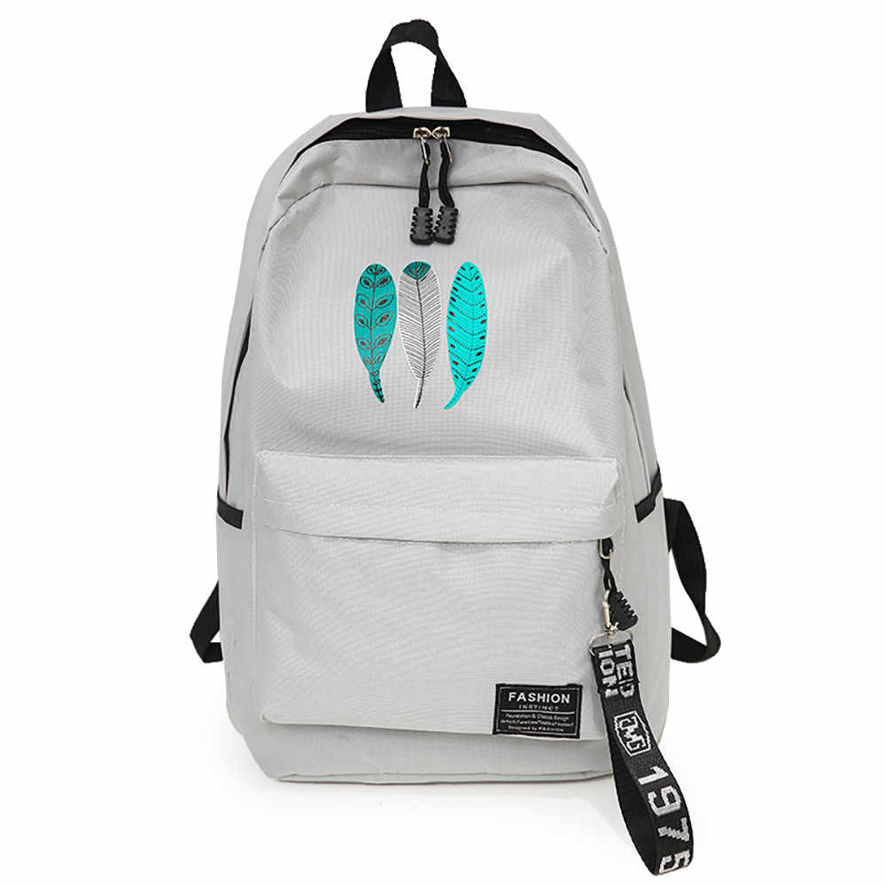 Mochila infantil para mujer, mochila de lona, mochila para estudiantes, mochila Simple de gran capacidad, mochila de lona