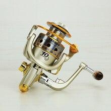 2016 1000 – 7000 Series Metal Superior Spinning Fishing Reel Ratio 5.5:1 Fishing Equipment Wheel Lure Reel Windlass Molinete 50
