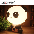 LEDIARY Fashion Panda Desk Lamp E14 Replaceable Light Source Night Light White&Black Baby Bedside Lamp 110-240V Cartoon