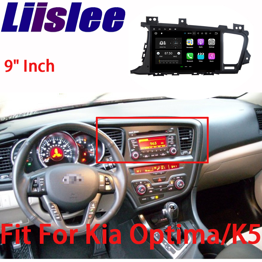 Liislee Android Car Navigation GPS For Kia Optima/K5 2012~2016 Audio Video HD Touch Screen Stereo Multimedia Player No CD DVD yessun for kia rio 2017 2018 android car navigation gps hd touch screen audio video radio stereo multimedia player no cd dvd