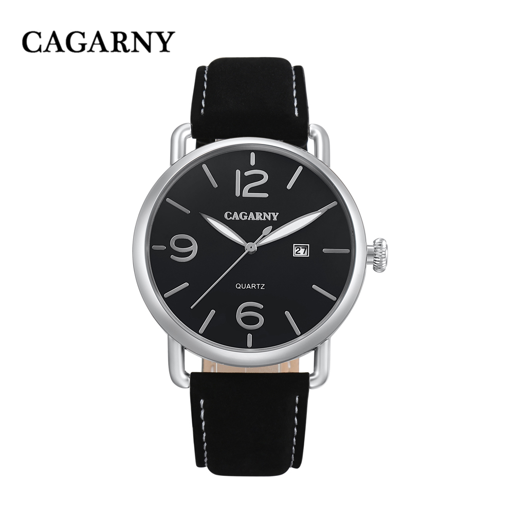 new arrival cagarny luxury brand quartz wrist watch for men watches casual clock man (15)