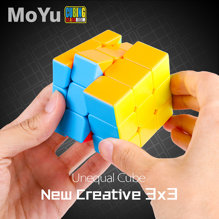 MoYu Mofangjiaoshi Unequal 3x3x3 Magic Speed Cube Puzzle Stickerless 3x3 Cubo Magico Game Educational Kid Toys For Children