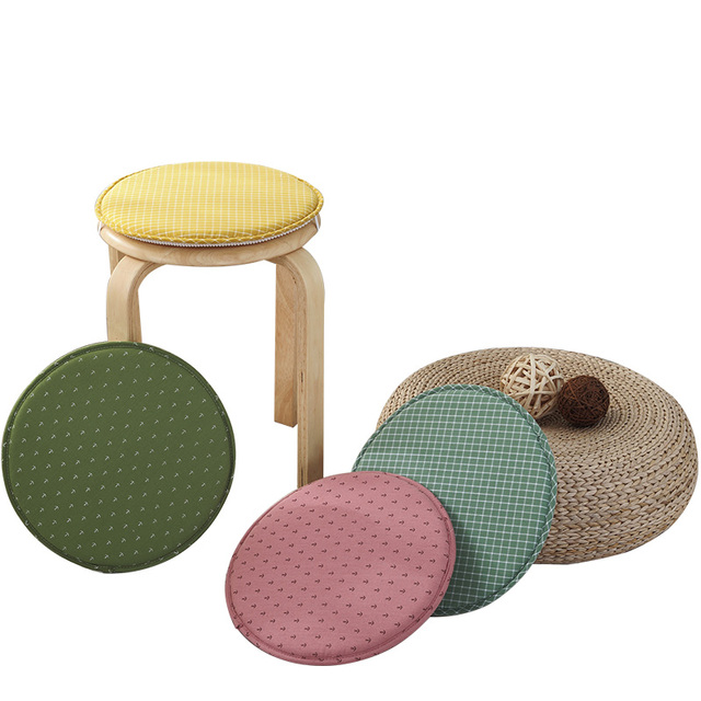 Kids Round Chair Exercises Pictures Cushions Small Cute Cushion For Desk Floor Sitting Mattress Soft Pad Seat Diameter 31cm
