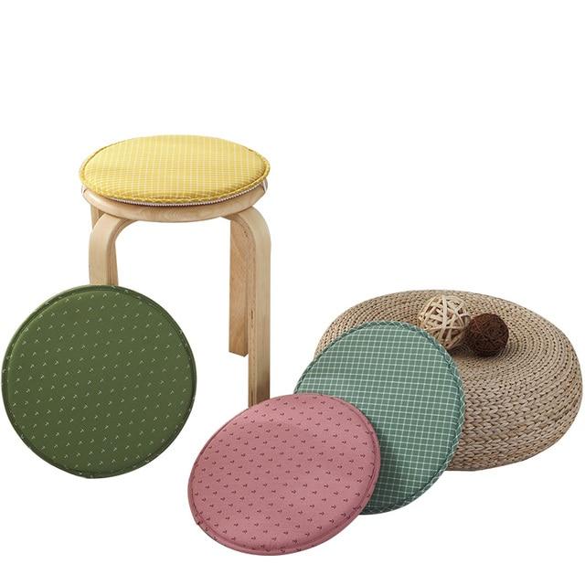 small round chair gray parson covers cushions cute cushion for desk floor sitting mattress kids soft pad seat diameter 31cm