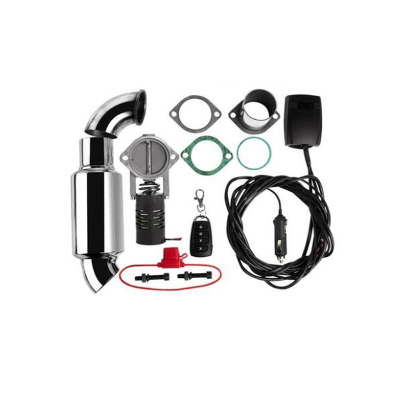 Soupape de décharge/commutateur de découpe d'échappement en acier inoxydable électrique avec télécommande