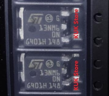 Original 100 NEW D13NM60N STD13NM60N STD13NM60 13NM60N 13NM60 D13NM60 DPAK 50PCS LOT