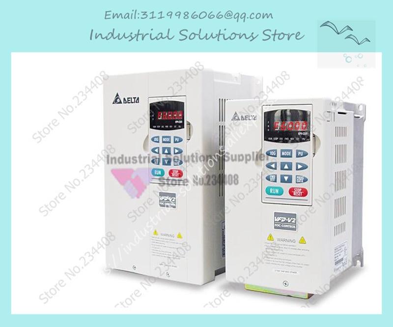 New Inverter VE Series Of High Frequency Converter Inverter VFD075V43A-2 380V Output 3ph 0~480V 7.5KW 10HP 0~600HzNew Inverter VE Series Of High Frequency Converter Inverter VFD075V43A-2 380V Output 3ph 0~480V 7.5KW 10HP 0~600Hz