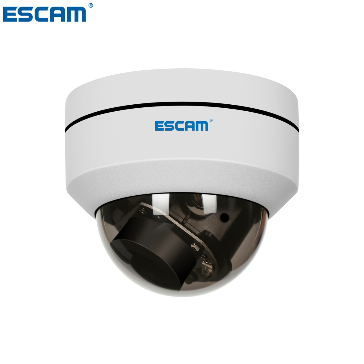 Date ESCAM PVR002 2MP HD 1080 p PTZ 4X Zoom 2.8-12mm Lentille IP66 Étanche POE Dôme IP caméra Soutien 3D Numérique Bruit Réduire