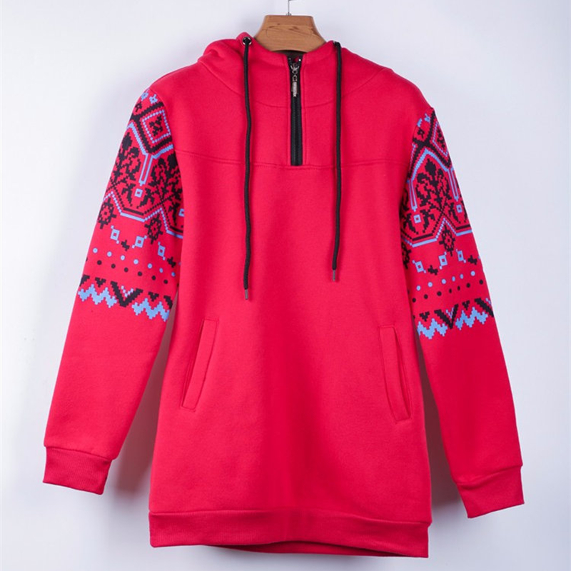 Smiao 2018 Langarm Female Hoodies Herbst Frauen Sweatshirts Dick Plus - Damenbekleidung - Foto 6