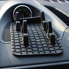 Auto Temporary Car Parking Card Anti-Slip Car Dashboard Sticky Pad Non-Slip Mat GPS Phone Holder
