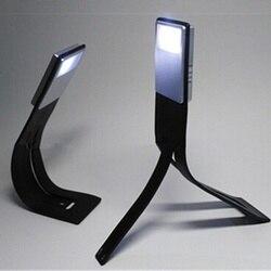 충전식 책 조명 충전 평면 led USB 충전 배 벤딩 조정 독서 조명 밤 빛