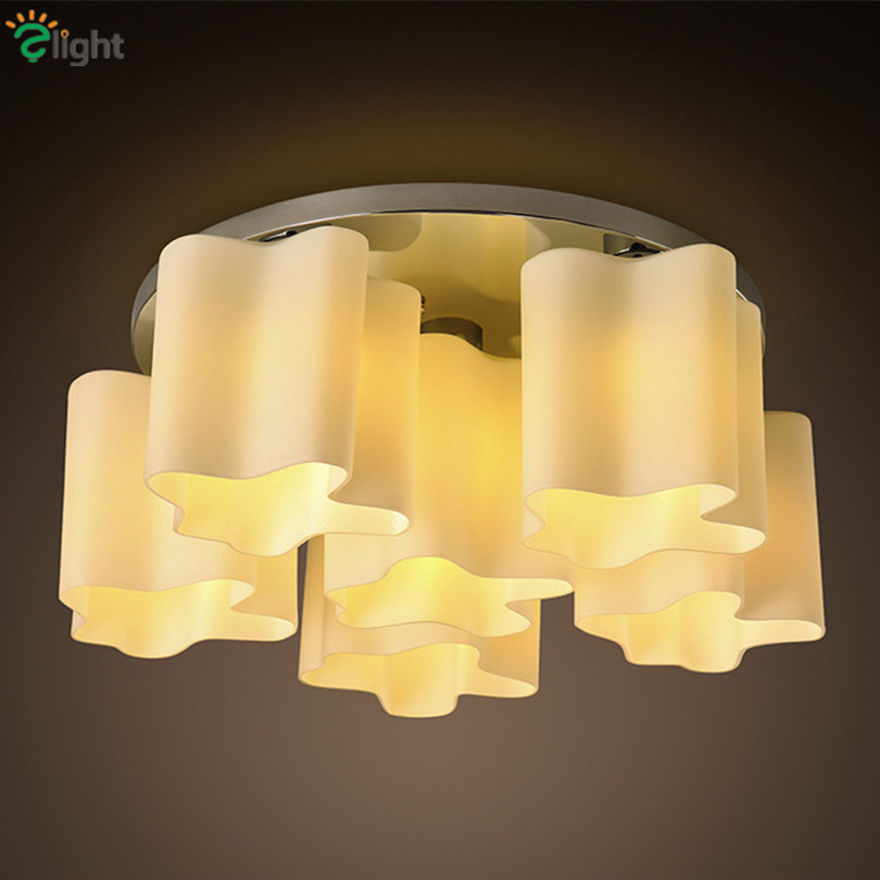 Modern Simple Cloud Glass Led Ceiling Chandelier Lights Lustre Chrome Bedroom Led Chandeliers Lighting Living Room Chandelier modern led crystal chandelier lights living room bedroom lamps cristal lustre chandeliers lighting pendant hanging wpl222