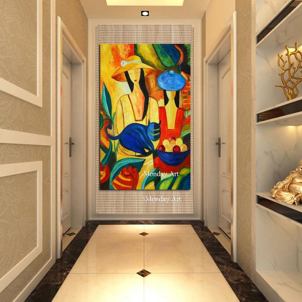 Пикассо Известный Топ Продаж Современный Чистый Ручная роспись холст картина настенные картины для украшения дома картина маслом фигура р...
