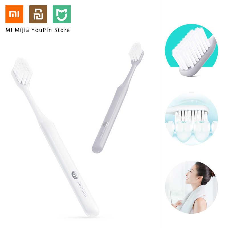 Detalle Comentarios Preguntas sobre Cómodo suave Xiaomi Doctor Bei bajo  jóvenes diente mi cepillo respetuoso del medio ambiente diente Manual mi  cepillo con ... ad29c3458a67
