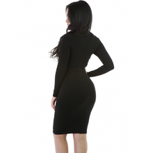 Sexy Maxi Bandage Black Party Dress Plus Size for crossdress shemale