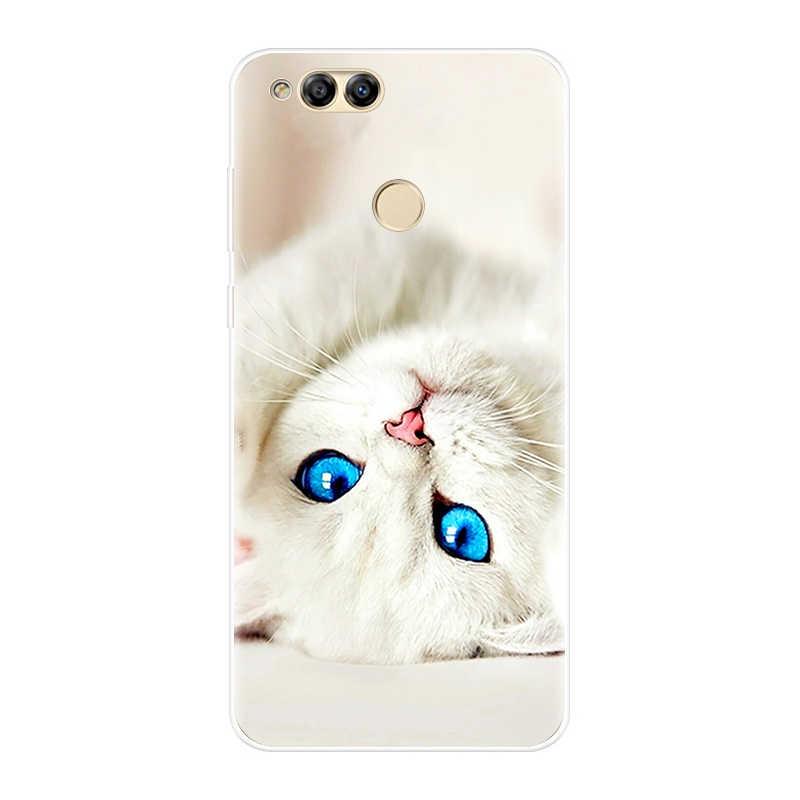 Чехол для телефона huawei Honor 10 9 8 7 Lite, Мягкая силиконовая задняя крышка из ТПУ для huawei Honor 8X MAX 10 9 8 7 7 S 7X 7A 7C Pro