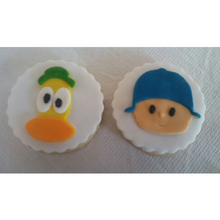 Custom Made 3D Printed Pocoyo Elly Face Pato Cartoon Children TV Character Cookie Cutters