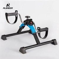 ALBREDA Multifunction Mini exercise bike Leg rehabilitation trainer machine stepper lose weight fitness equipment for Home