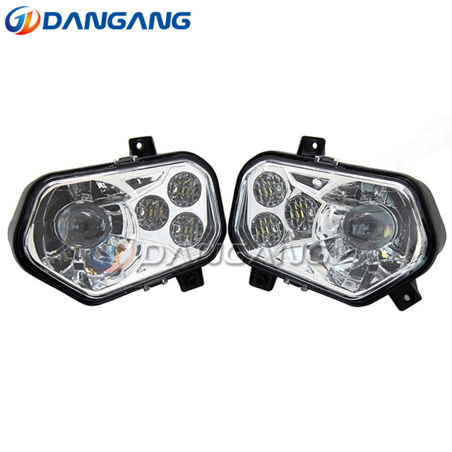 For Polaris Ranger and Sportsman LED Headlight Kit ATV UTV ...