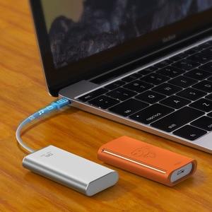 Image 5 - Unidad flash de estado sólido DM FS300, memoria USB 512 de alta velocidad, tipo C, 3,1 GB, 256GB SSD externa