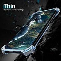 Luxury Armor Doom Aluminum Drop Shell Case for SAMSUNG Galaxy s9 s9plus 8 NOTE 9/ S8/S8 plus/ S7 Edge/ Metal Bumper cover cases