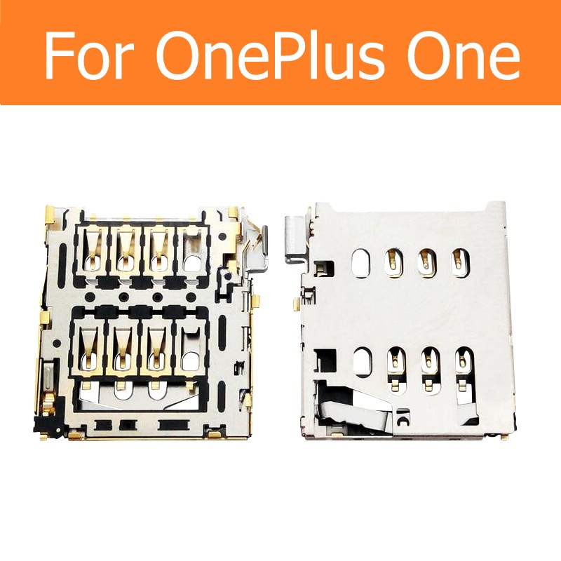 SIM Card Reader Adapter For OnePlus One A0001 A1000 A1001 SIM Card Slot Holder For 1+ SIM Connector SIM Socket Replacement Parts