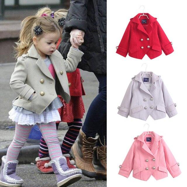 Online Shop New 2014 fashion kids winter jackets coats girls ...