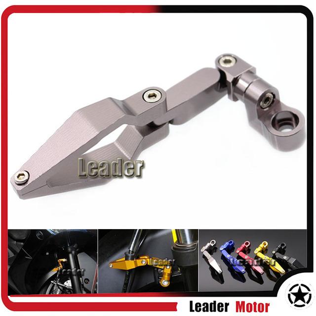 Acessórios da motocicleta cnc de alumínio do produto universal braçadeira linha de freio para honda suzuki ducati ktm bmw kawasaki yamaha gray