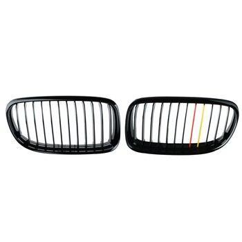 Araba-styling Grill için BMW 3-serise E90 LCI Sedan Mat Siyah araç ön ızgarası Izgara 09-11