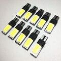 10 шт. T10 светодиодный 194 168 W5W COB внутренняя лампа свет белый стояночный резервный стоп-сигнал Canbus безошибочные автомобильные ксеноновые свет...