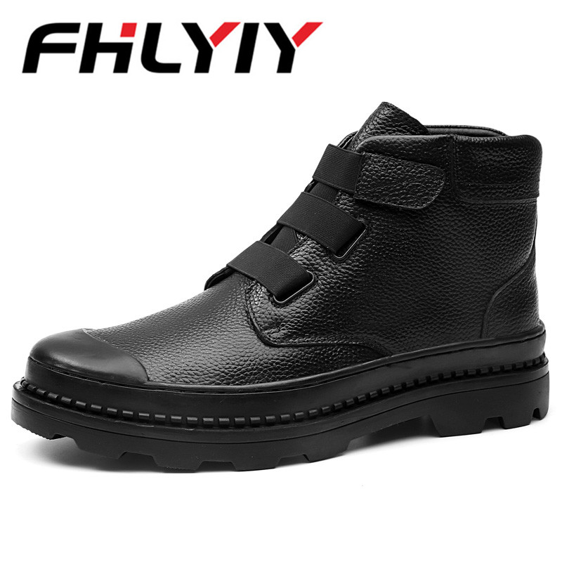 Autumn/winter Men Motorcycle Boots Vintage Style Men Casual Shoes Fashion Lace-up Men Martin Boots Shoes Outdoor Ankles Boots цены онлайн
