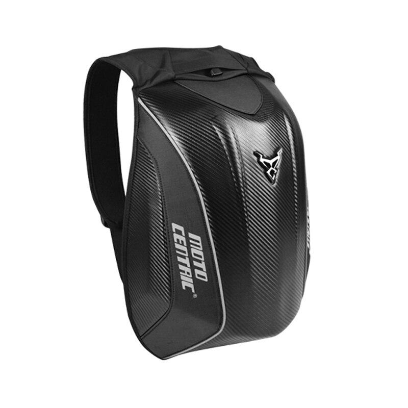 Sac à dos de Moto en Fiber de carbone, sac de conduite MC pour Motocross, loisir, coque rigide étanche, 4 couleurs, nouvelle collection 2019