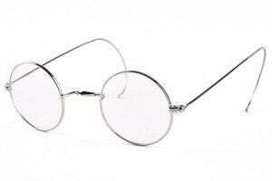 Image 5 - AGSTUM 39mm okrągły Vintage Antique Wire okulary do czytania czytnik okularów + 0.25 + 0.5 + 0.75 + 1.0 + 1.25 + 1.5 + 1.75