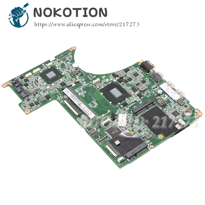 NOKOTION DA0LZ7MB8E0 11S90000643 MAIN BOARD For Lenovo U310 Laptop Motherboard I3-2365M CPU DDR3