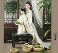 Yi сян юнь чай Fragnance милые дети мумия дочь семья наряд родитель ребенок костюмы комплект