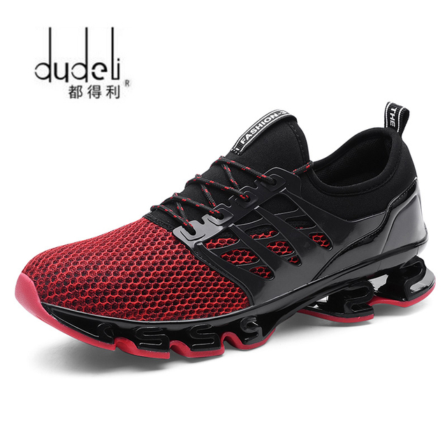 a0cc229f417324 DUDELI Spring Autumn Men s Sneakers 2018 Men Running Shoes Trending Style  Sports Shoes Breathable Trainers Sneakers For Male 001