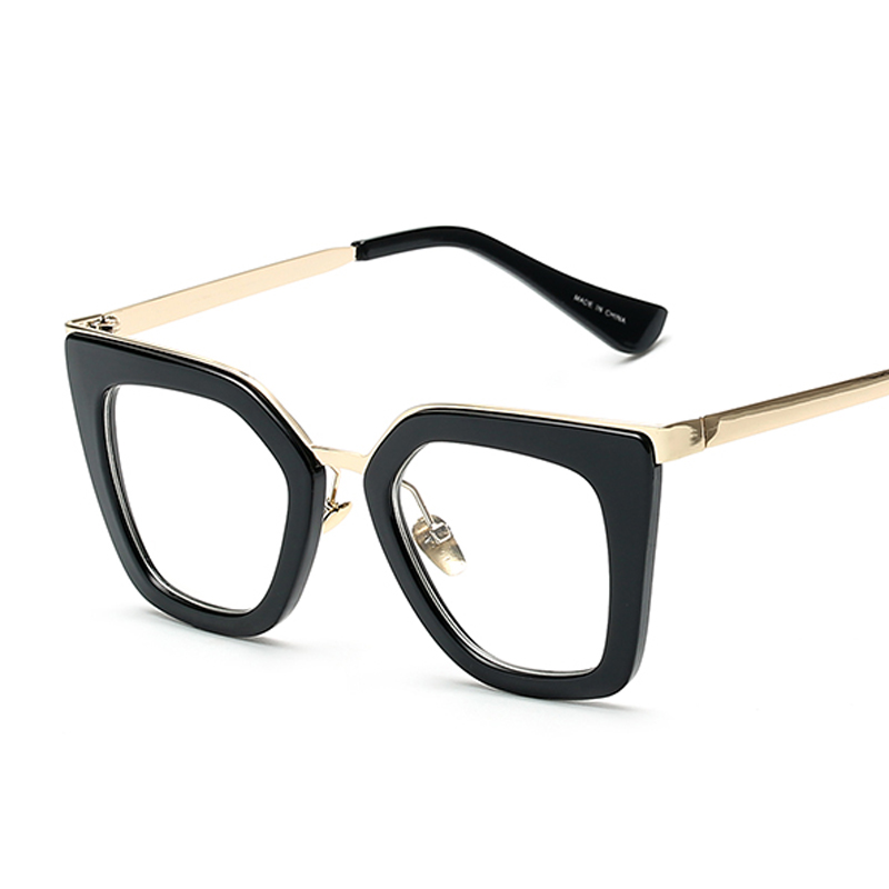 Peekaboo New 2016 vintage eyeglasses frames fashion cat eye half ...