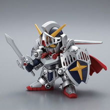 DIY Assemble Q Version Gundam Knight Model Childhood Toy Educational Assembling Building Puzzle Toys High Quality 9CM Robot(China)
