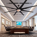 100 inch American luxury industrial wind ceiling fan light DC110V/220V Nordic creative large Ceiling Fans Ventilador De Techo