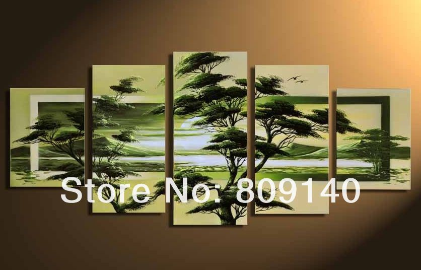 Aliexpress Com Buy Wall Scenery Landscape Oil Painting Canvas High Quality Handmade Modern Home Office Hotel Wall Artwork Decor Gift Free Shipping From