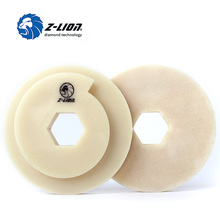 Z-LION 5″ Snail Backing Plate Pad 1 Piece Hook & Loop Backer Plate for Diamond Polishing Abrasive Disc Pad 125mm Self Gripping