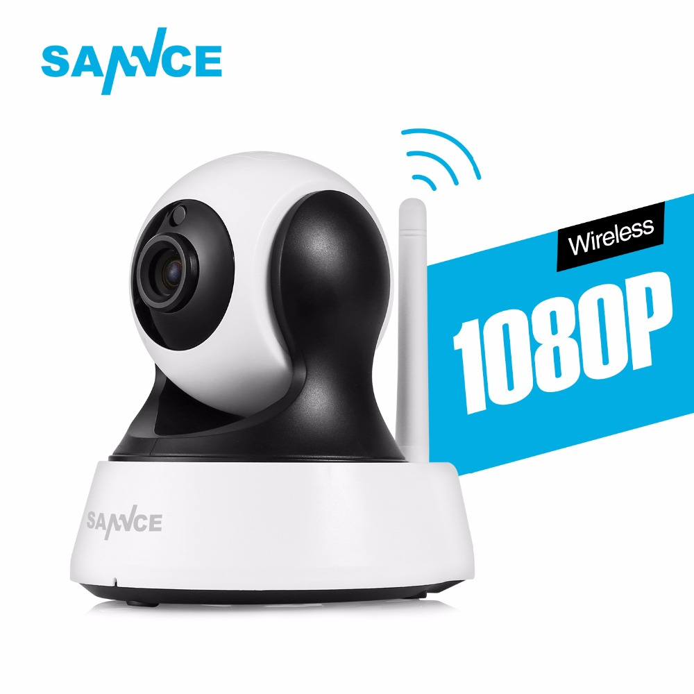 SANNCE 720P 1080P HD CCTV IP Camera IR Cut Day/Night Vision P2P Indoor Wireless wifi Security Camera Baby Surveillance Monitor howell wireless security hd 960p wifi ip camera p2p pan tilt motion detection video baby monitor 2 way audio and ir night vision